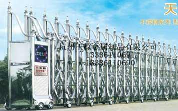 电动伸缩门 - 天鹰9号 17-18伸缩门 - 杭州中出网-城市出入口设备门户