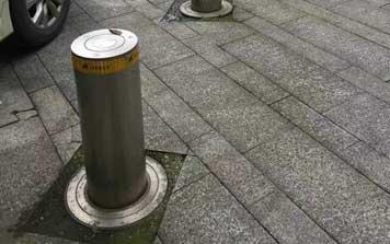 升降柱 - 自动升降柱01 - 杭州中出网-城市出入口设备门户