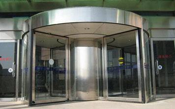 旋转门 - 环柱自动旋转门