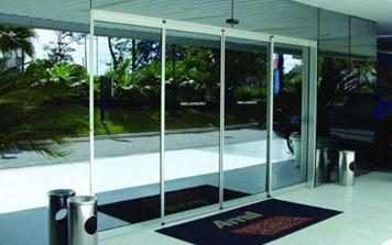 自动门 - 镜面玻璃自动平移门