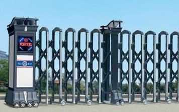 铝合金伸缩门 - 尊贵威龙HL-WL2铝合金伸缩门 - 北京中出网-城市出入口设备门户