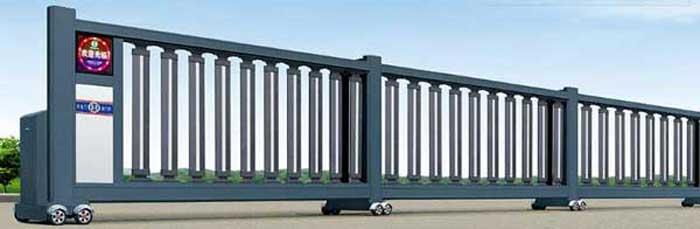分段平移门 - 平段分段门HL-PY2 - 北京中出网-城市出入口设备门户