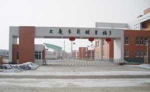 大庆新潮学校伸缩门案例 - 大庆中出网-城市出入口设备门户