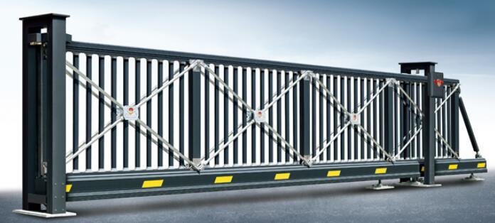 悬浮平移门 - 欧式智能悬滑门(深灰) - 重庆中出网-城市出入口设备门户