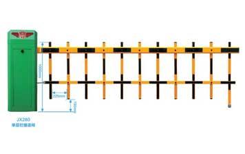 栅栏道闸 - JX280单层栏栅道闸 - 重庆中出网-城市出入口设备门户