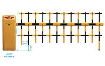 栅栏道闸 - JX280双层栏栅道闸 - 重庆中出网-城市出入口设备门户