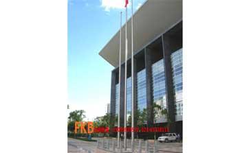 旗杆 - 锥形不锈钢旗杆 - 重庆中出网-城市出入口设备门户