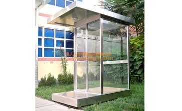 岗亭 - 玻璃岗亭 - 重庆中出网-城市出入口设备门户