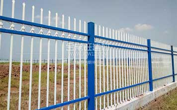 鋅钢护栏 - 锌钢围栏带圈XLG1 - 重庆中出网-城市出入口设备门户