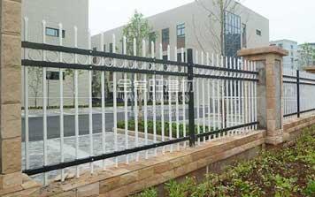 鋅钢护栏 - 锌钢围栏带圈XLG2 - 重庆中出网-城市出入口设备门户
