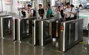 南京南站通道闸案例 - 南京中出网-城市出入口设备门户
