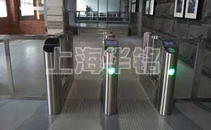 上海科技网通道闸案例 - 上海中出网-城市出入口设备门户