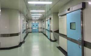 重庆合川中西医结合医院自动门案例 - 重庆中出网-城市出入口设备门户
