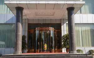 南京杨浦大酒楼旋转门案例