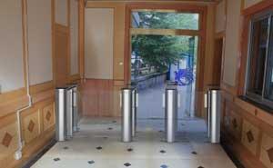 西藏自治区公安厅通道闸案例 - 拉萨中出网-城市出入口设备门户