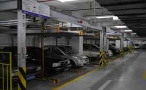 上海浦东中核大厦立体车库案例 - 上海中出网-城市出入口设备门户