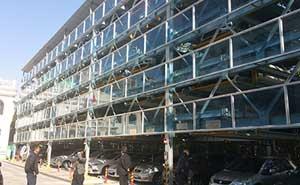 青岛地税局-升降横移立体车库项目