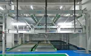 天津市和畅园小区项目立体车库案例 - 天津中出网-城市出入口设备门户