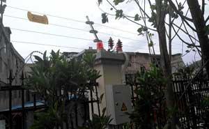 贵州乐湾国际小区电子围栏案例 - 贵阳中出网-城市出入口设备门户