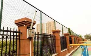 山东省济南第三中学电子围栏案例