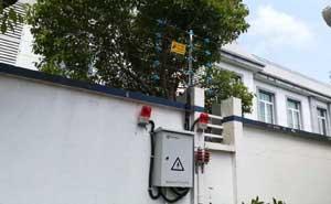 上海柳江派出所脉冲电子围栏案例 - 上海中出网-城市出入口设备门户