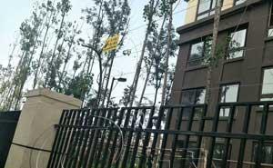 重庆昕晖•香缇时光小区电子围栏案例 - 重庆中出网-城市出入口设备门户