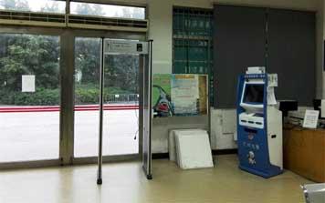 广州交警车辆管理海珠区公安局安检门案例