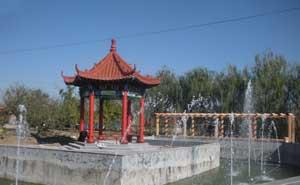 胶州市富贵生态园凉亭案例
