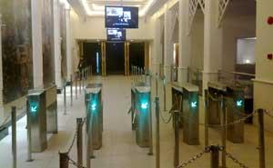 上海世博会泰国馆通道闸案例 - 上海中出网-城市出入口设备门户