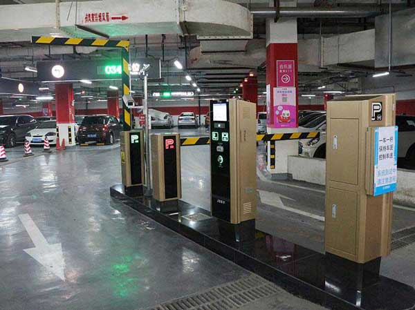 庆贺成都出安智能停车场系统进驻成都银泰城