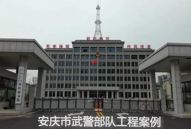 喜迎安庆出安智能电动伸缩门进驻武警安庆市支队