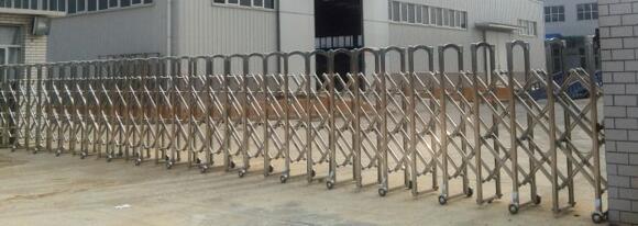 沧州瑞祥体育器材制造有限公司选择沧州出安智能为伸缩门供货商