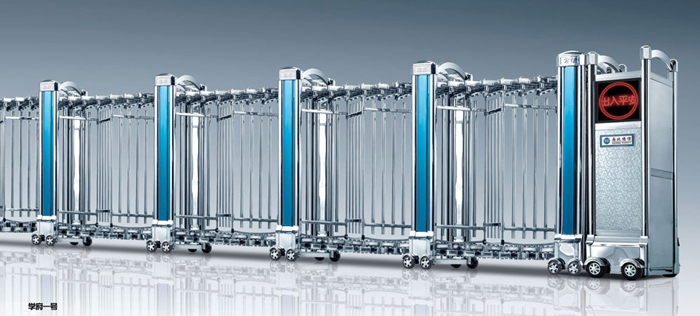 热烈祝贺十堰出安智能电动伸缩门进驻和昌·国际城